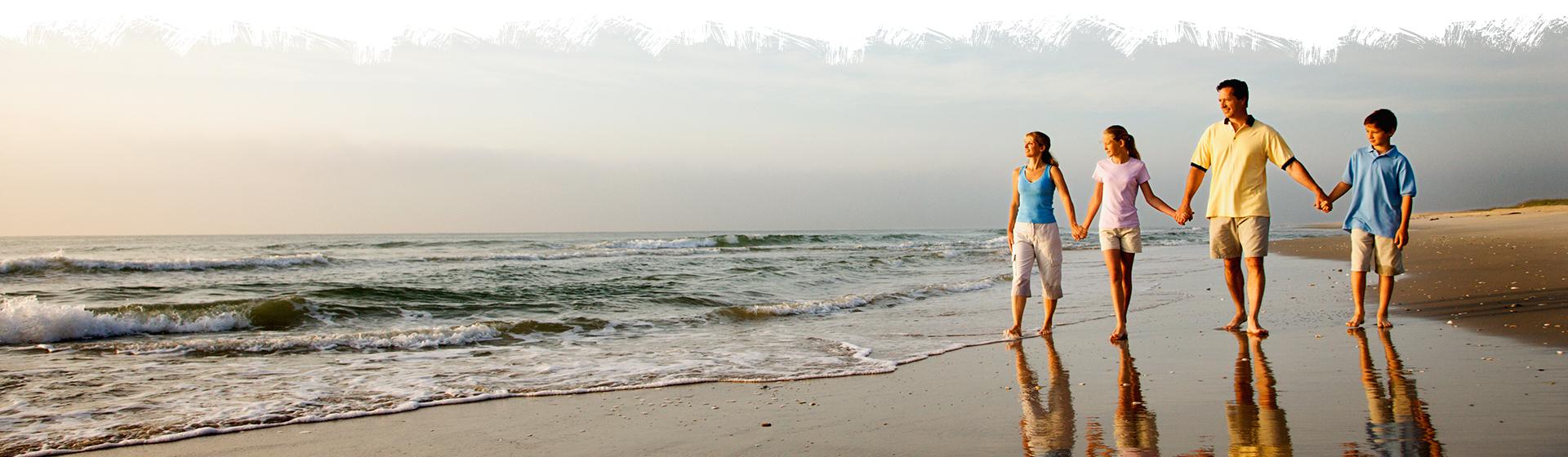 Miles Of Beach Await On St Augustine Beach